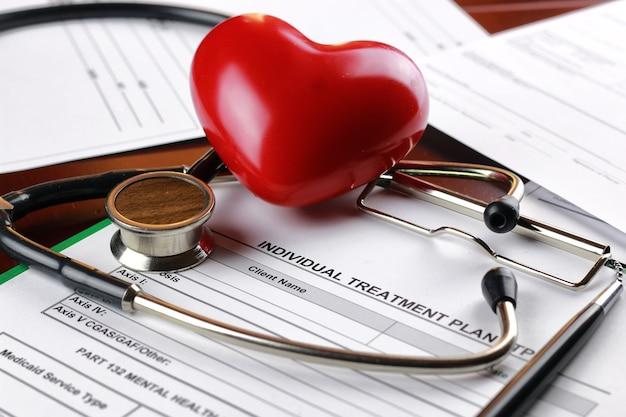 Ручка для медицинских документов стетоскоп