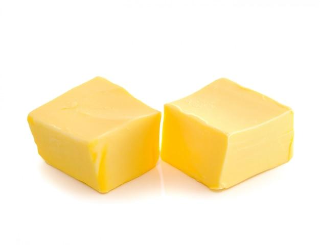 分離されたバターの棒