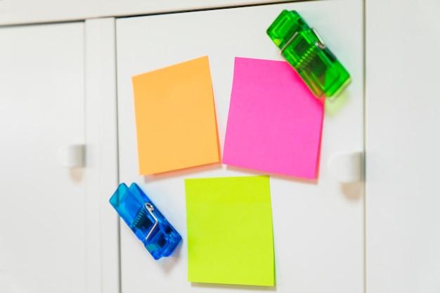 Sticky notes decoration