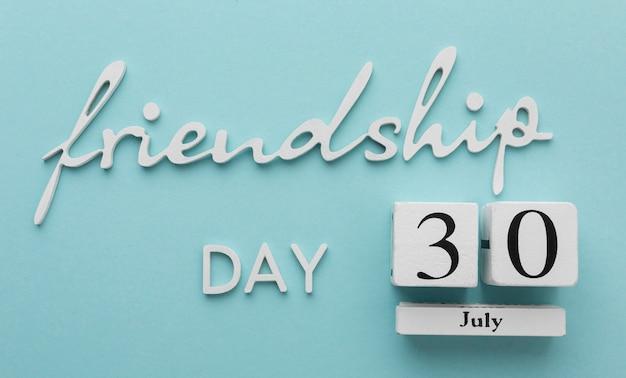 Still life assortment for friendship day