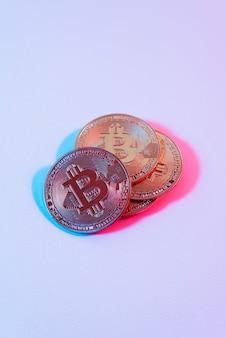 暗号通貨による静物の品揃え