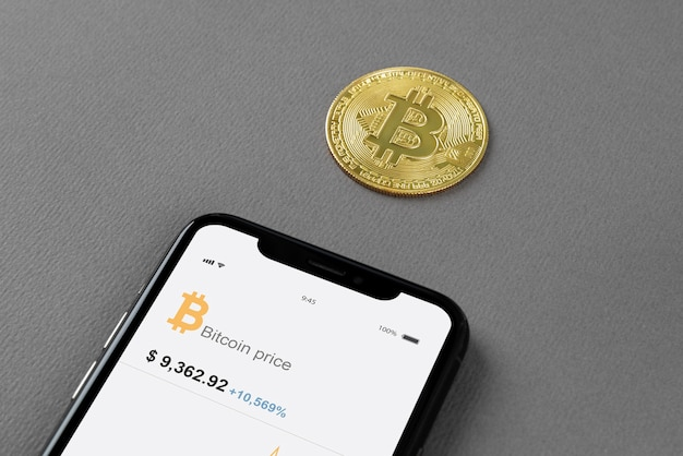 Still life assortment with cryptocurrency