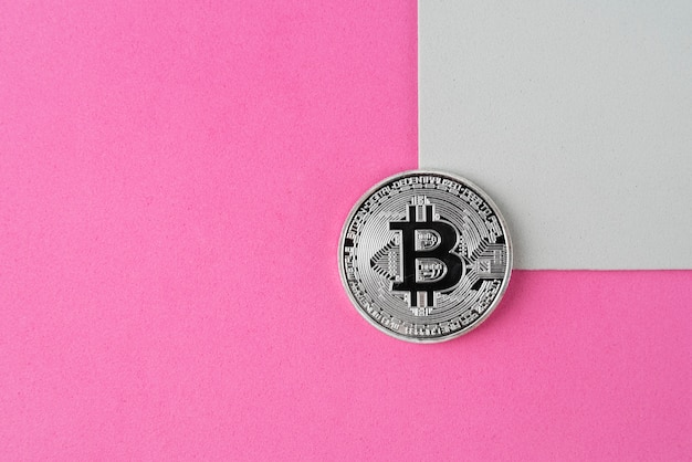 Still life cryptocurrency arrangement