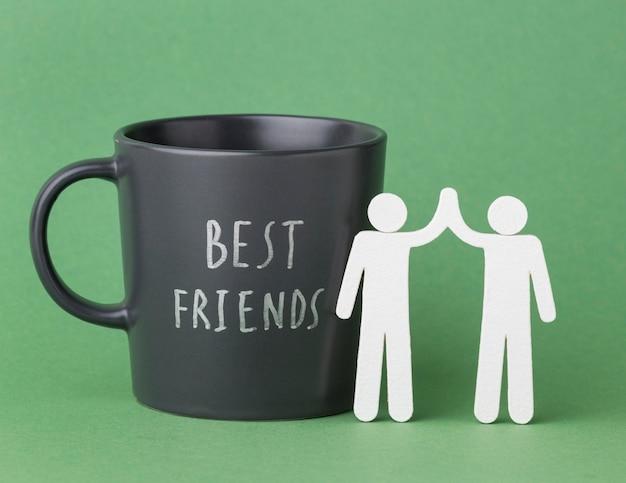 Still life friendship day composition