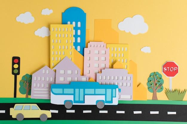 静物紙都市交通機関の手配