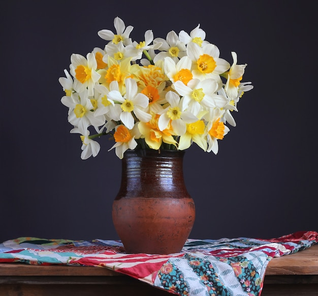Still life in rustic style
