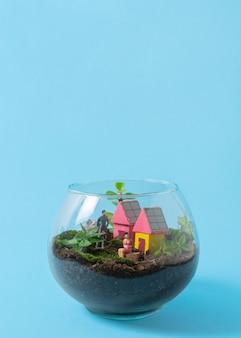 Натюрморт с ассортиментом экологически безопасного образа жизни