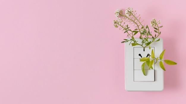 Расположение элементов устойчивого образа жизни натюрморт
