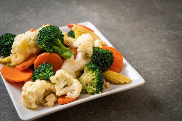 Stir-fried mix vegetable
