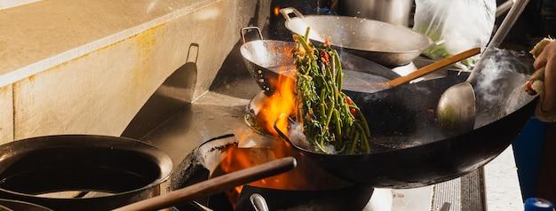 Stir fry vegetable