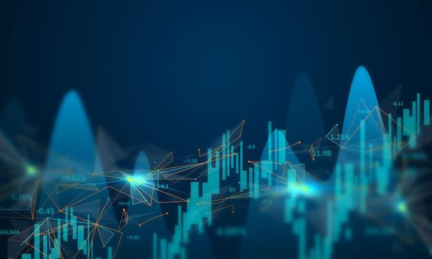 Обвал фондового рынка иллюстрируется графикой