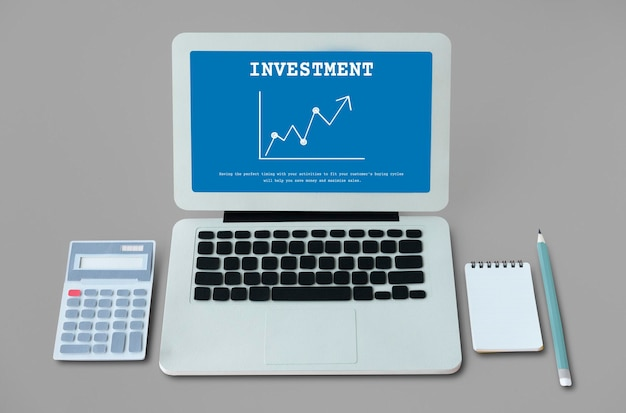 Stock market exchange economics investment graph Free Photo