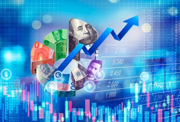 주식 시장 온라인 개념