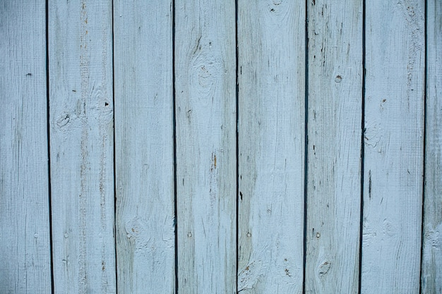 Stock photo of a painted wooden textured background of a shed. light blue wooden planks.