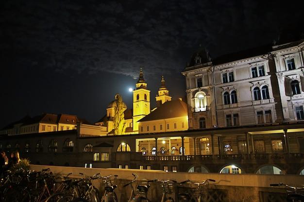 Stolnica svの聖ニコラス大聖堂スロベニア、リュブリャナのニコラジャ
