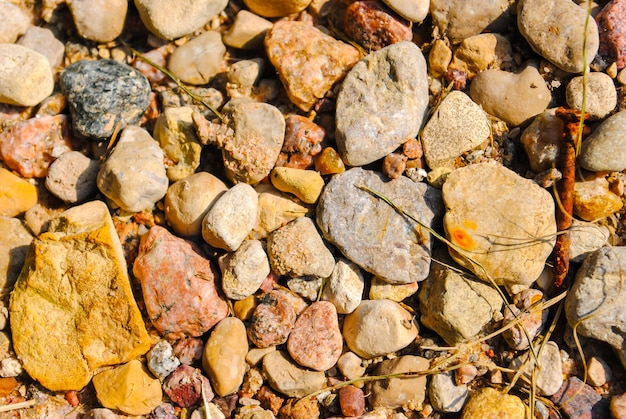 Stone background, stone in the park, stone floor texture, sea st