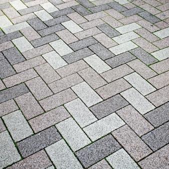 Stone blocks paving texture