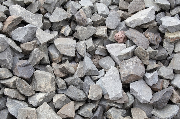 Stone. crushed stone construction materials.