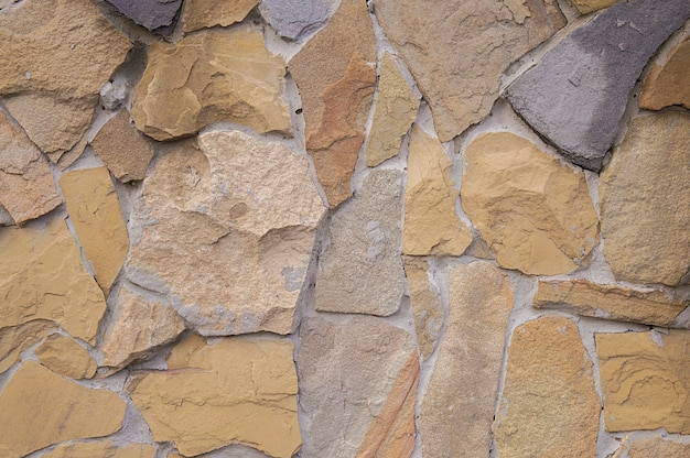 Stone fence texture natural stone