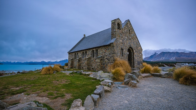Stone house in new zealand