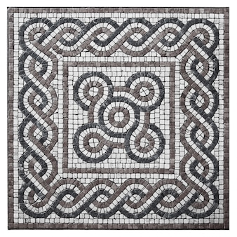 Stone mosaic for ornamental floor
