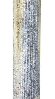 흰색 배경에 고립 된 돌 오래 된 열