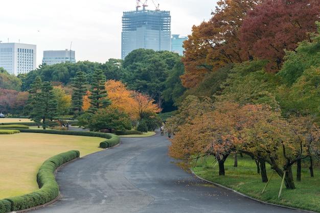 日本庭園の石段