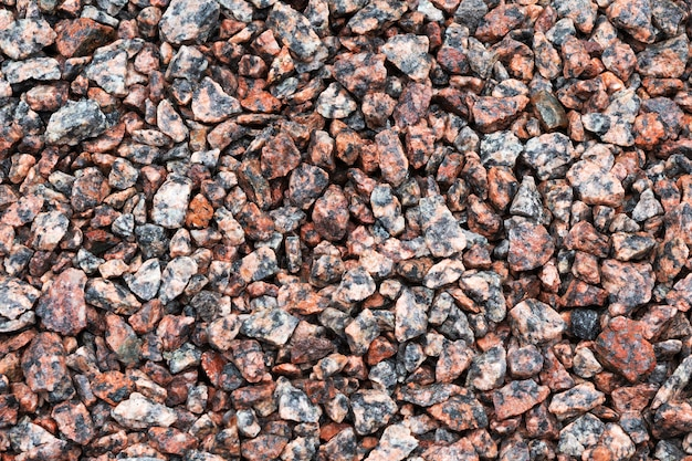 Stone texture. crushed gravel as or texture
