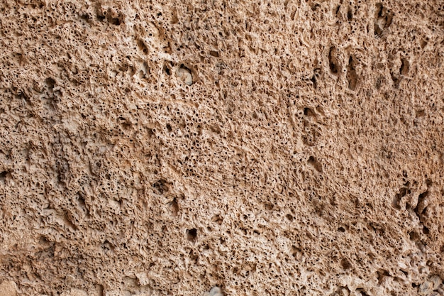 Stone texture with holes
