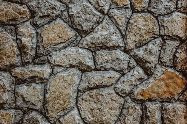 石のテクスチャ背景の壁