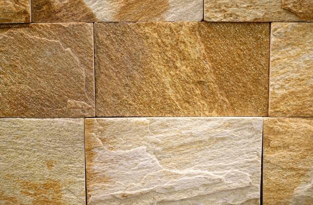 Каменная стена красивая текстура Premium Фотографии