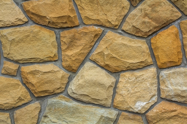 石の壁のパターンの背景