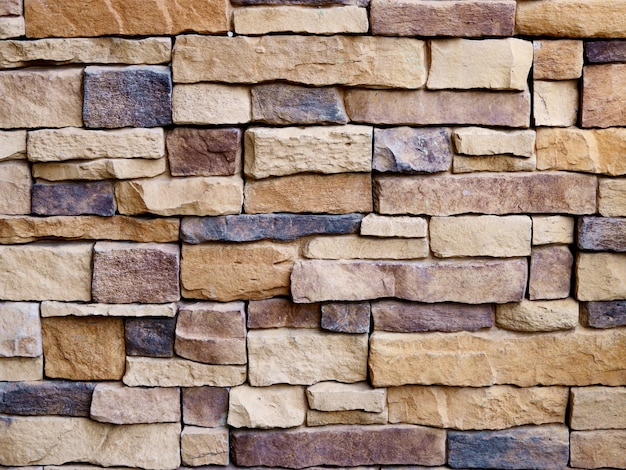 Stone wall for pattern and background
