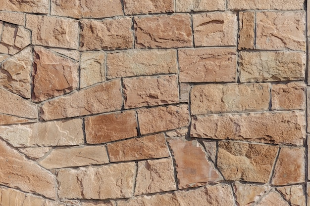 Stone wall in red colour