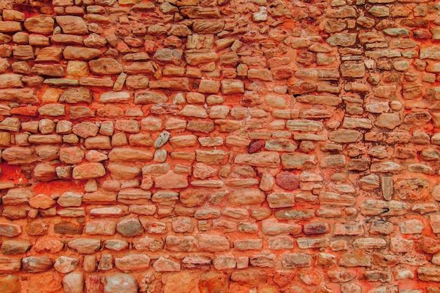 Предпосылка текстуры каменной стены. кирпичный фон