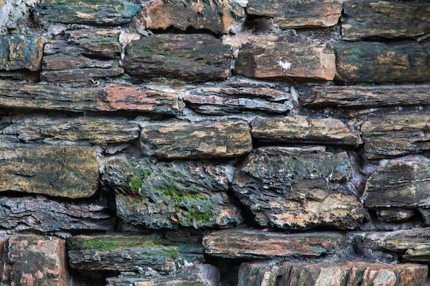 돌 벽 질감 배경 자연 색상, 울타리