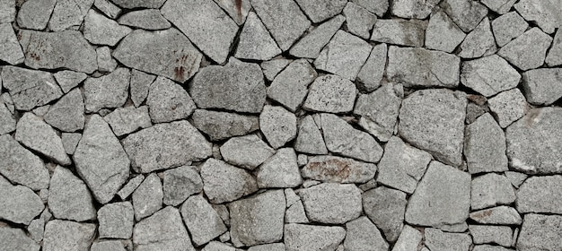 The stone wall texture pattern background.