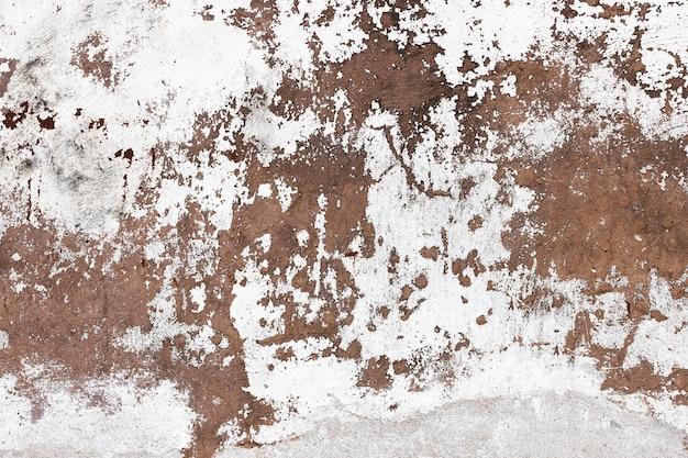古い白いペンキで石の壁。高品質の写真
