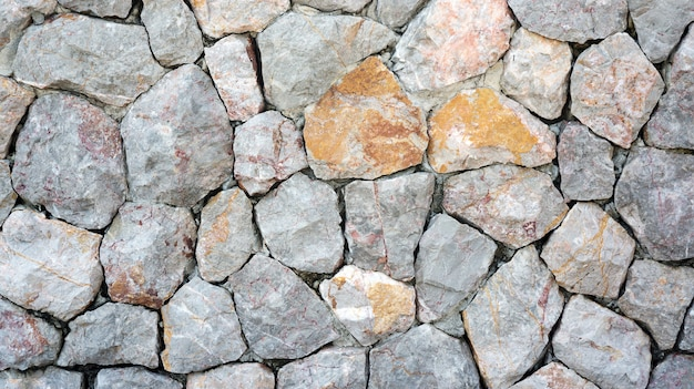 Stone walls for a background.