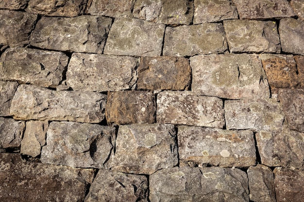 Stoned texture close up of old rock texture natural backgroundstone brick texture p