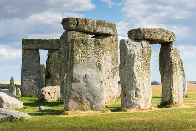 Stonehenge, england, uk in summer