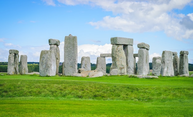 Stonehenge, wiltshire, uk.