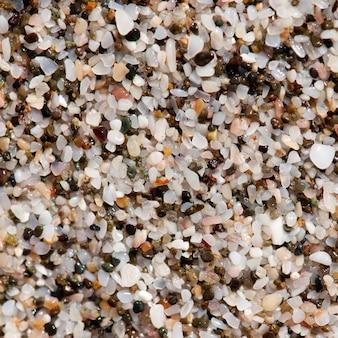 Stones along the seashore in costa rica