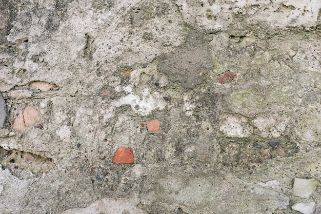 Stones and concrete surface