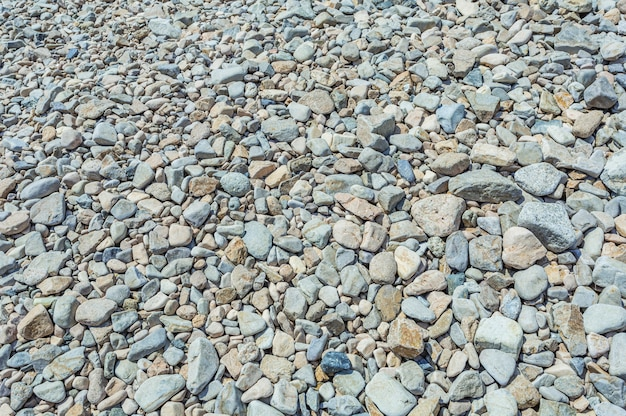 Stones on the floor