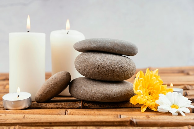 瞑想のための石