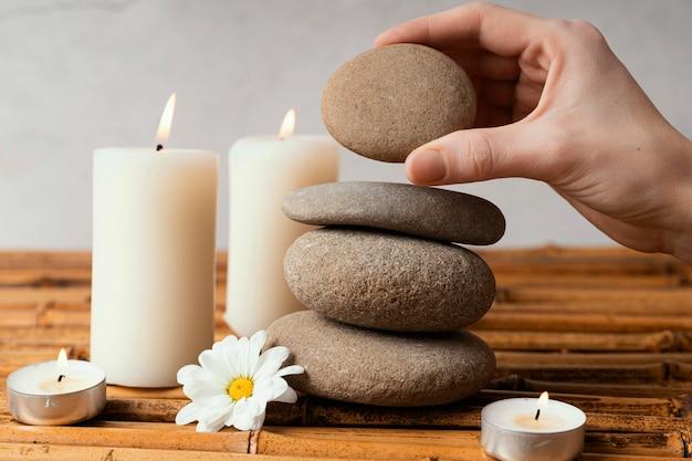 Stones for meditation