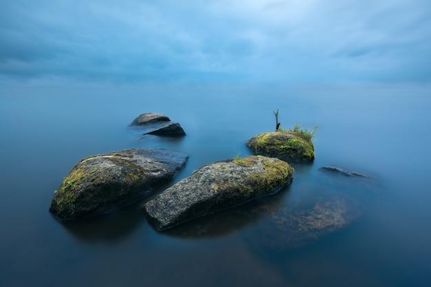 Stones in the mist