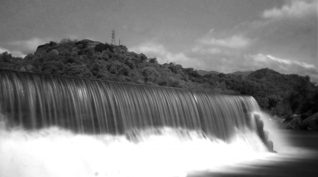 Камни природа река длинные экспозиции водопады