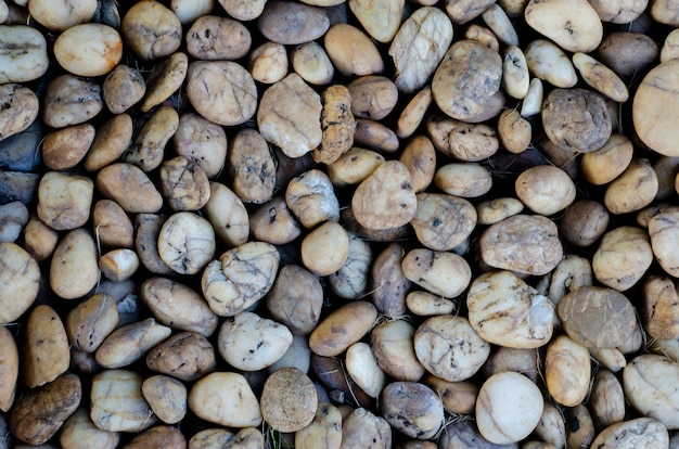 Stones with blurred background patterns